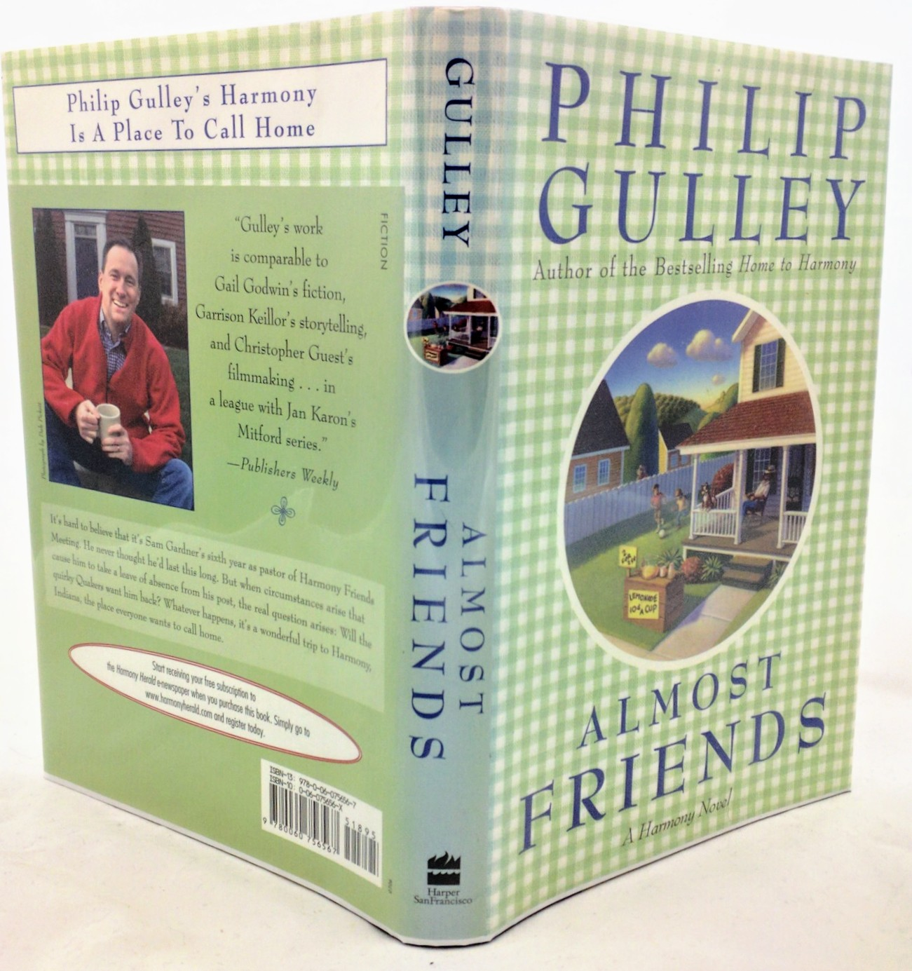 Almost Friends Harmony Series 7 Philip Gulley SIGNED 1st Edition First Hardcover